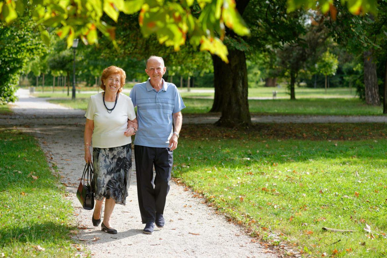caminhada na vida dos idosos