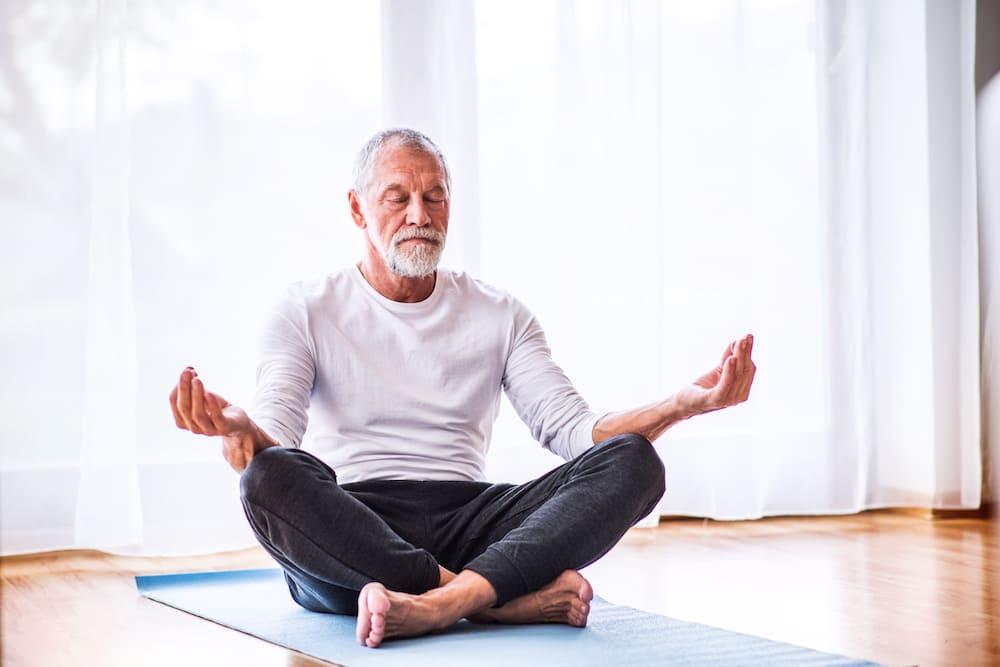 Meditação para idosos