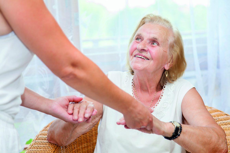 idoso com alzheimer